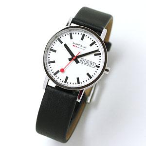 モンディーン腕時計/ニュークラシック デイデイト/メンズ/A667.30314.11SBB