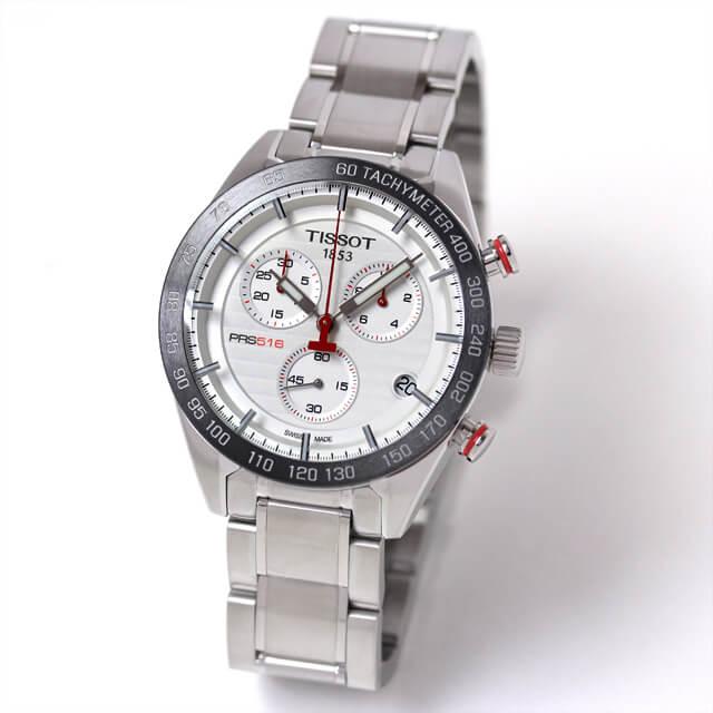 ティソ(TISSOT) T-スポーツ(T-SPORT)PRS516 クォーツ クロノグラフ/T100.417.11.031.00 腕時計