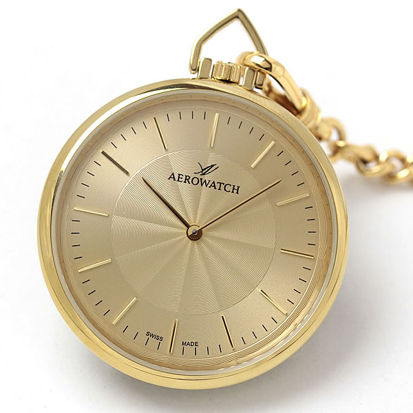 アエロ(AERO)懐中時計クォーツ式 05822ja01