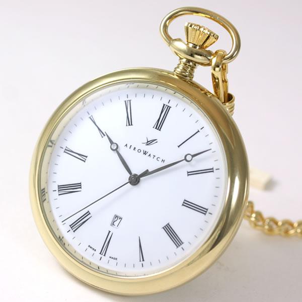 アエロ(AERO)懐中時計クォーツ式 25611j201
