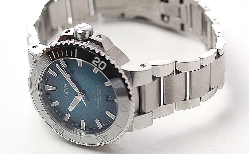 オリス腕時計 30気圧防水 300mダイバーズ時計