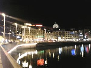 チューリッヒの夜景 1