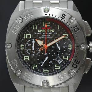 スペシャルフォース パトリオットスチール 時計