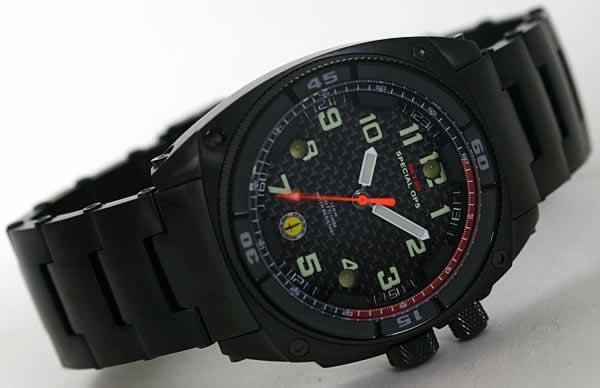 チタニウム時計
