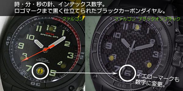 MTM ファルコン ブラックオンブラック 比較