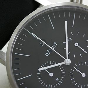 a.b.art クロノグラフ 腕時計