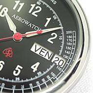 曜日・日付の独立型時計
