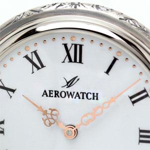 AERO 手巻き式 懐中時計 ローマン数字の文字盤