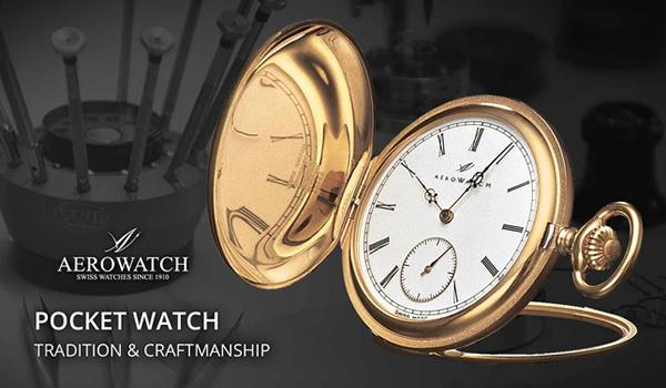 AERO Pocket watch 懐中時計 56633j101