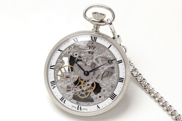 アエロ スケルトン懐中時計