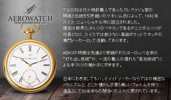 アエロ懐中時計の歴史