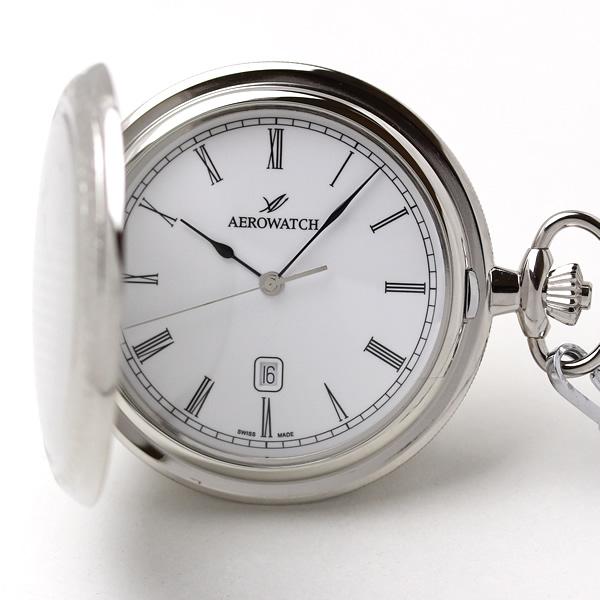 24608PD01 アエロ懐中時計 スイスブランド