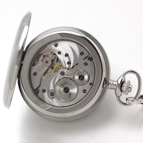 55819aa01guil アエロ AERO 懐中時計 裏側