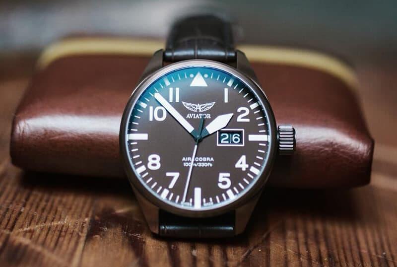 aviator(アビエイター) スイスブランド 腕時計 パイロットウォッチ