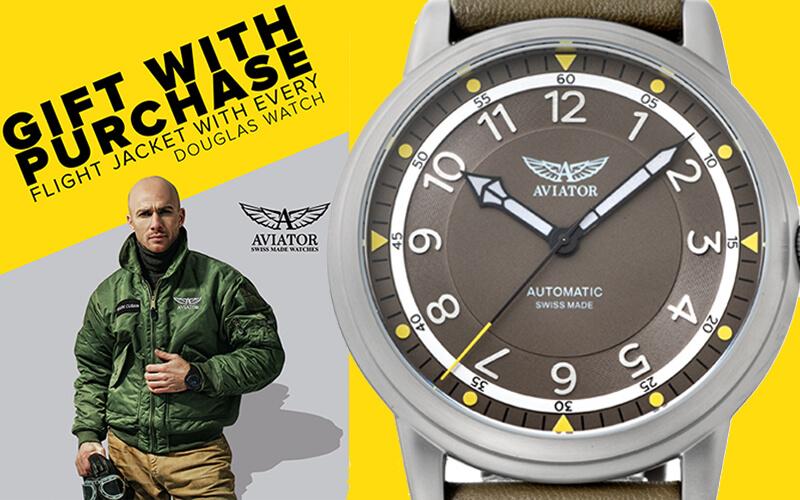 アビエイター DOUGLAS DAKOTA ダグラス ダコタ 腕時計