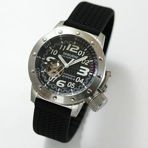 SEALANE(シーレーン) 自動巻き 腕時計 SE34-PBK