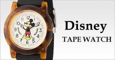 ディズニー Disney TAPE WATCH 腕時計