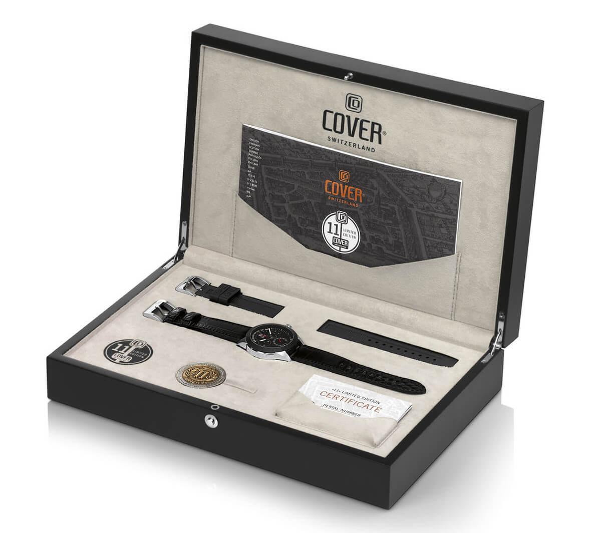 cover コヴァー ELEVEN(イレブン) 限定品ならではの豪華なボックス