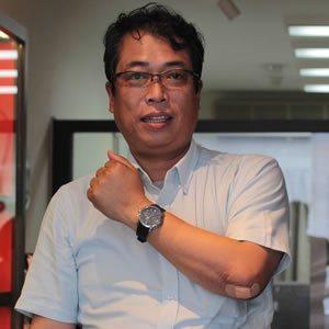 2014年6月 TISSOT(ティソ) PRC-200 オートマティック クロノグラフ T055.427.17.057.00腕時計をお買い上げいただきました青木俊道様
