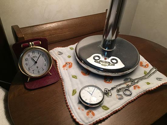 古時計好き(40〜50歳)男性様から到着後の画像をいただきました。ありがとうございます