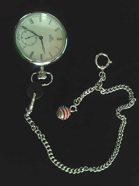 マーヴィン(MRAVIN)/懐中時計/正美堂特別オーダーモデル/手巻き式/オープンフェイズ/ローマン数字文字盤/M122.14.22.11をお買い上げいただきました、S.S様のオシャレな画像