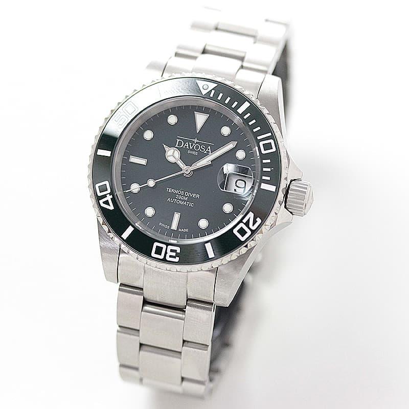 ダボサ テルノス セラミック 自動巻き 腕時計