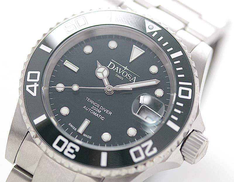 DAVOSA(ダボサ) Ternos Ceramic(テルノス セラミック)/自動巻き/グリーン/メンズ/ 161.555.70 腕時計