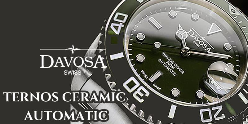 ダボサ テルノス セラミック オートマティック 腕時計