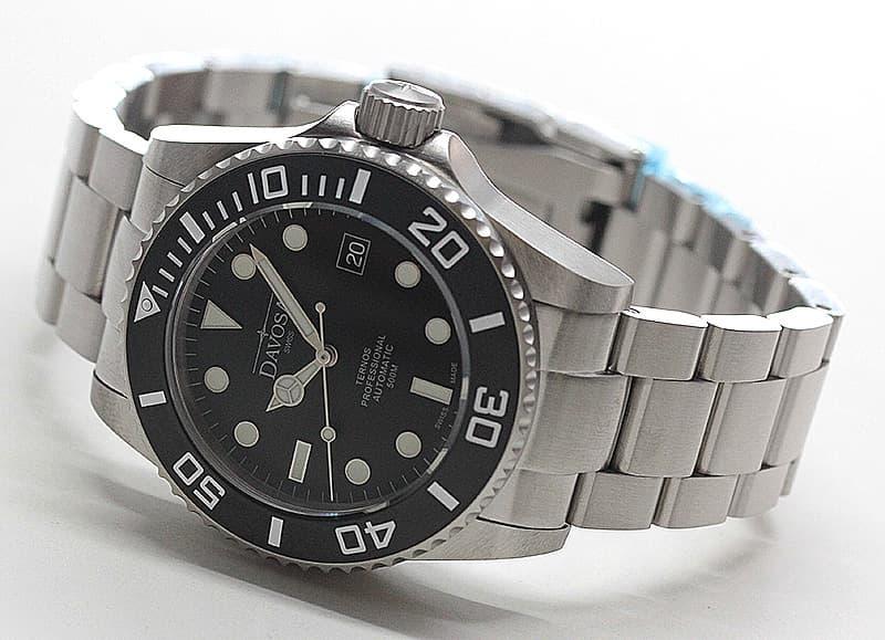 ダボサ davosa 腕時計 マットスーツ ブラック