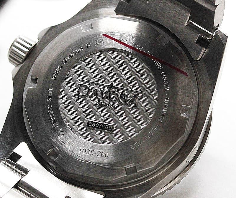 ダボサ 腕時計 裏蓋