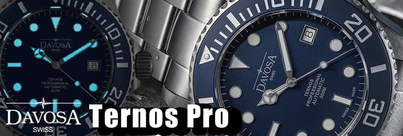 DAVOSA(ダボサ) Ternos Pro テルノスプロ 腕時計 500m防水