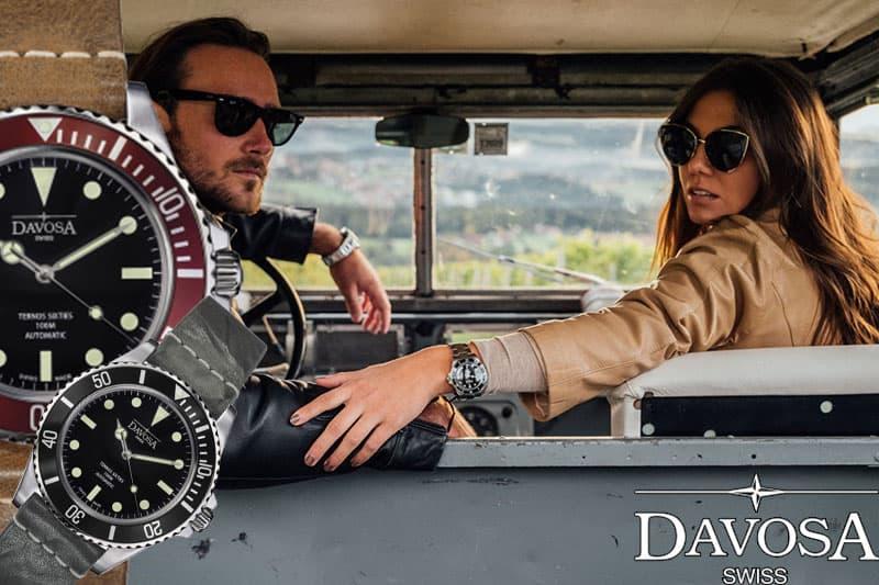 DAVOSA(ダボサ)TERNOS SIXTIES(テルノス シックスティズ)腕時計