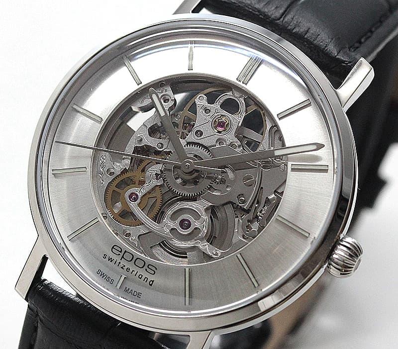 エポス(epos)/ORIGINALE/スケルトンウォッチ/3437SKSL 腕時計