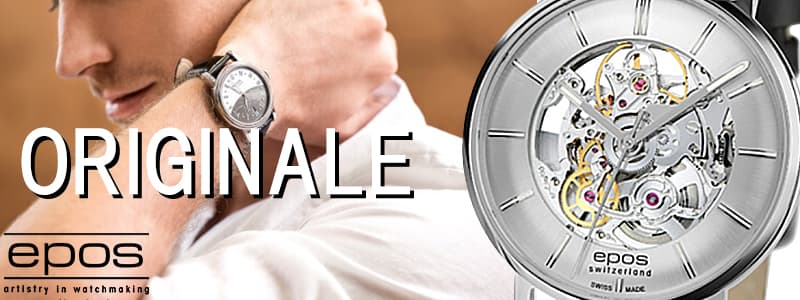 エポス EPOS スケルトン  腕時計