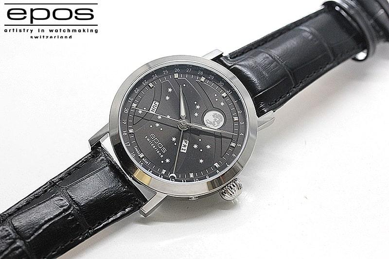 エポス(epos)/OEUVRE D'ART/ビッグムーン(Big Moon)3440GY 腕時計