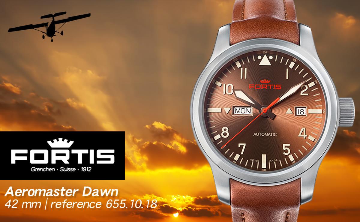 FORTIS(フォルティス)エアロマスター ドーン デイデイト  6551018
