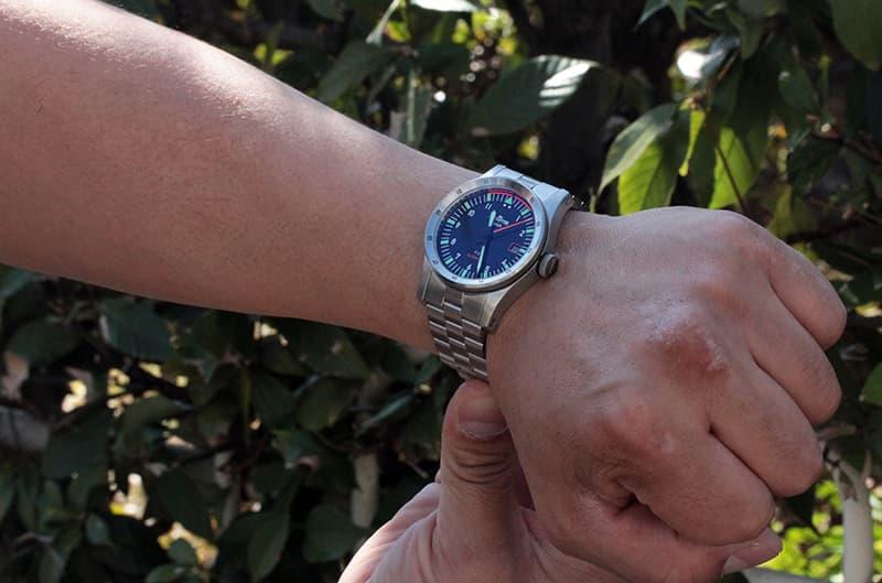 スーうにも似合う腕時計