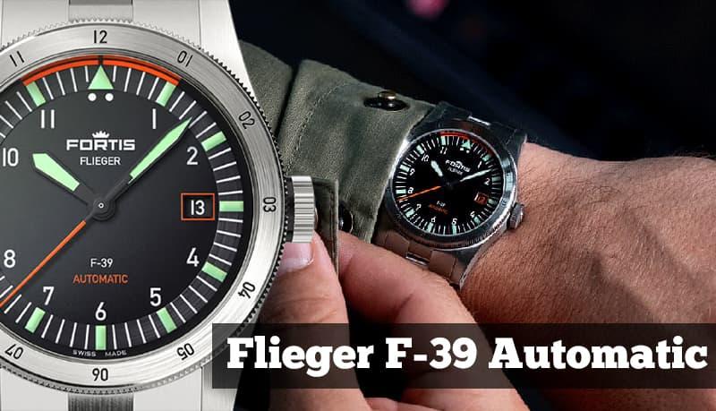 フォルティス フリーガー F-39 オートマティック