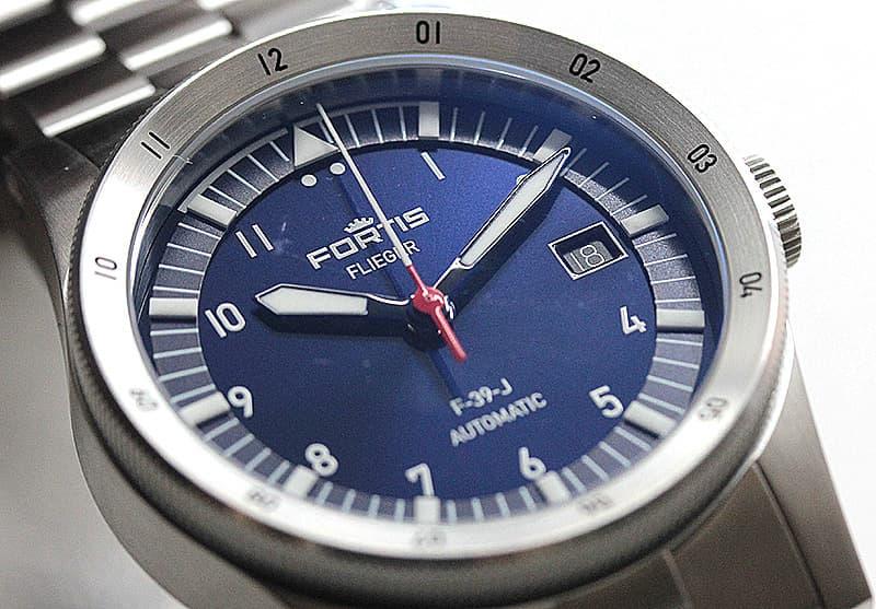 フォルティス Fortis 腕時計 フリーガー パイロット