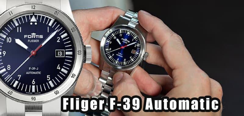 フォルティス(FORTIS)フリーガー F-39 Automatic(フリーガーF-39 オートマティック)  F.422.0007 日本50本限定モデル 腕時計