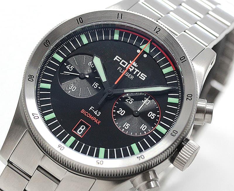 結納返しなどにもおすすめの腕時計 フォルティス スイス