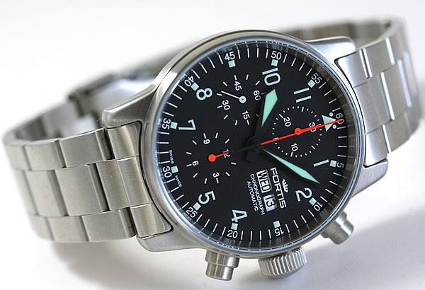 FORTIS 腕時計 クロノグラフ