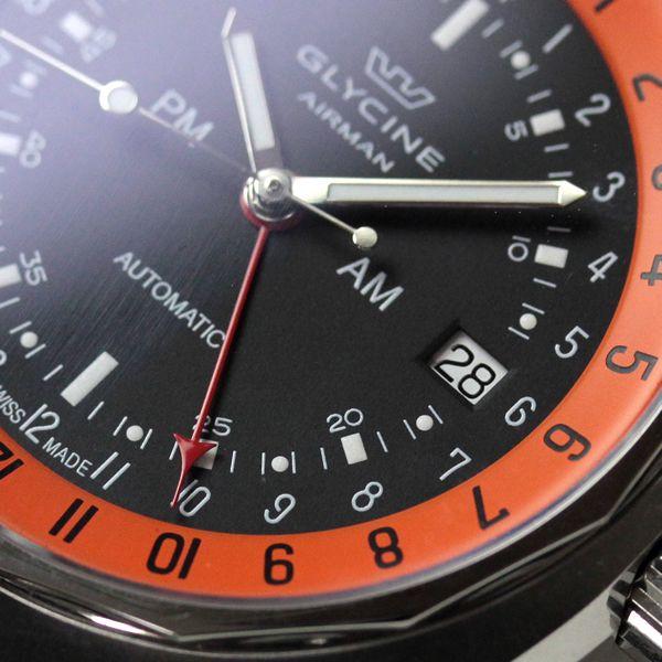 GLYCINE(グライシン) エアマン SST12 GMT機能