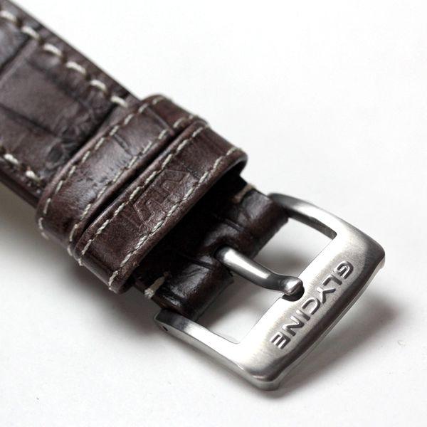 GLYCINE(グライシン) 腕時計のベルト 尾錠部分