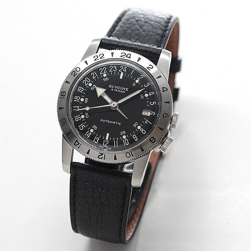GLYCINE(グリシン) AIRMAN(エアマン) 36 NO1 GL0159 自動巻き 腕時計