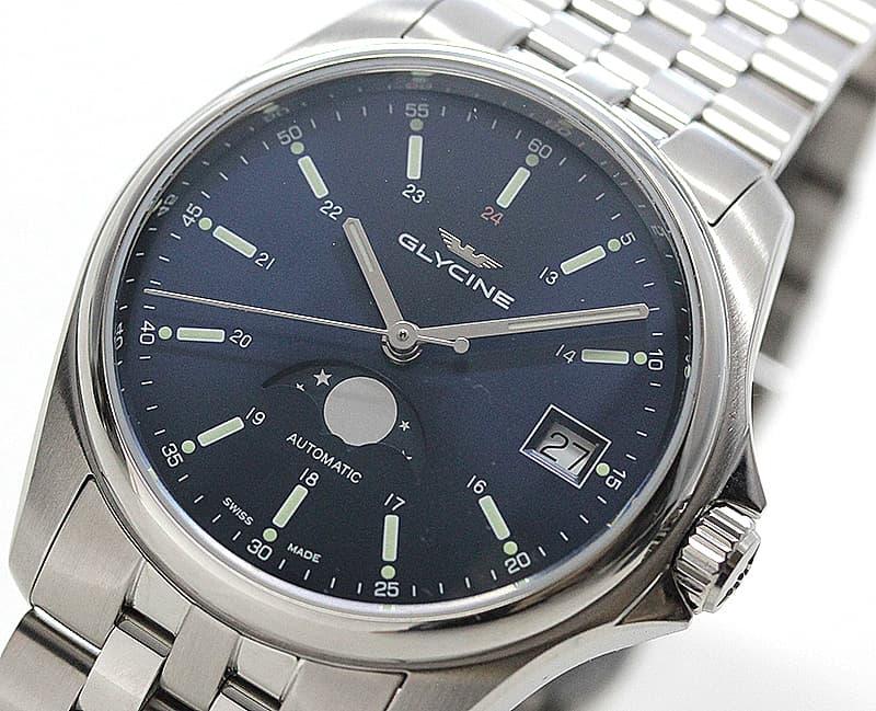 ムーンフェイズ腕時計