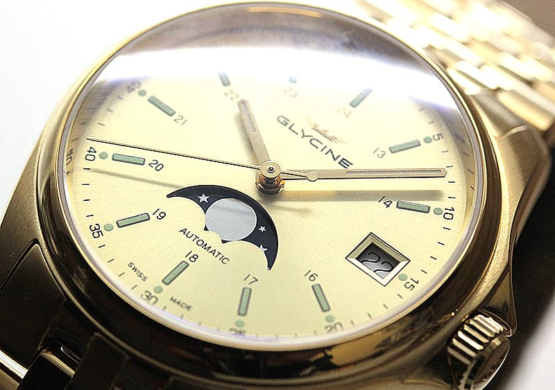 グリシン 腕時計 コンバット
