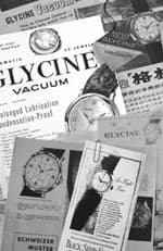 国をまたいで世界中にグリシンの時計は広まった