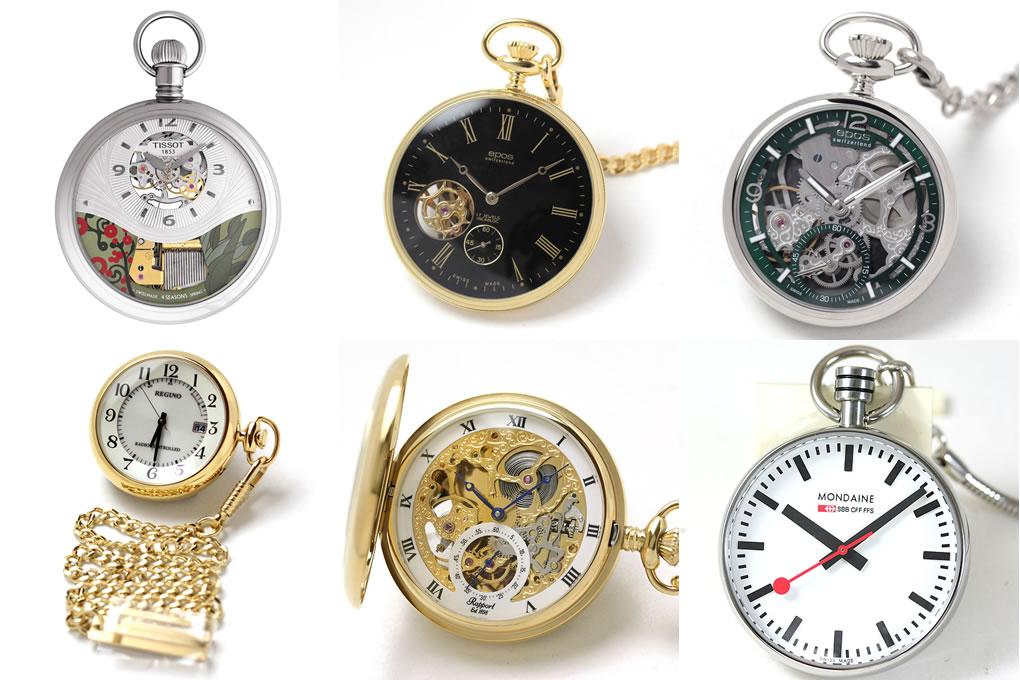 懐中時計展示会の様子
