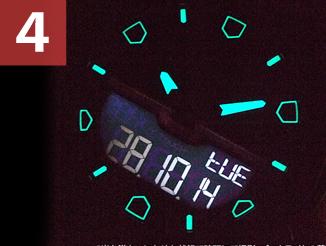時計の機能について